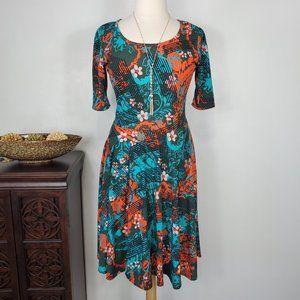 "LuLaRoe ""Nicole"" Fit & Flare Dress, 2XL"